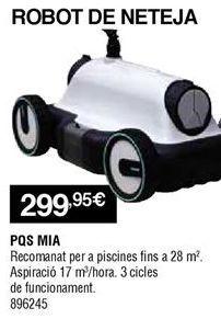 Oferta de Robot aspirador PQS por 299,95€
