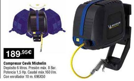 Oferta de Compresor de aire Michelin por 189,95€