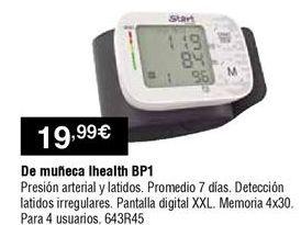 Oferta de Tensiómetro por 19,99€