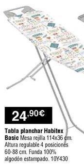 Oferta de Tabla de planchar por 24,9€