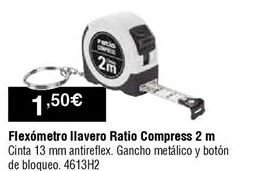 Oferta de Flexómetro Ratio por 1,5€