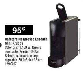 Oferta de Cafeteras Nespresso por 95€