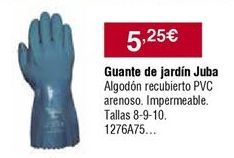 Oferta de Guantes de jardín por 5,25€