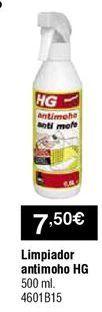 Oferta de Limpiador antimoho HG por 7,5€