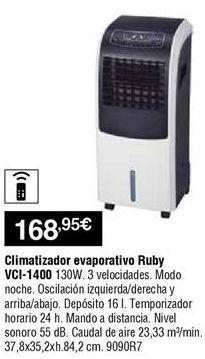 Oferta de Climatizador evaporativo por 168,95鈧�