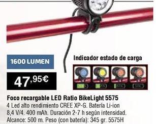 Oferta de Foco led por 47,95€