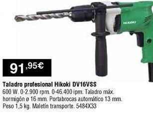 Oferta de Taladro por 91,95€