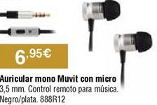 Oferta de Auriculares por 6,95€