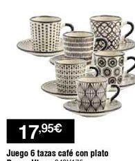 Oferta de Tazas por 17,95€