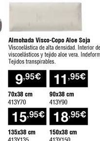 Oferta de Almohada viscoelástica por 9,95€