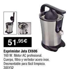 Oferta de Exprimidor Jata por 51,95€