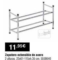 Oferta de Zapatero por 11,95€
