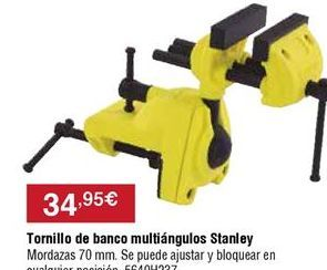 Oferta de Tornillos de banco por 34,95€