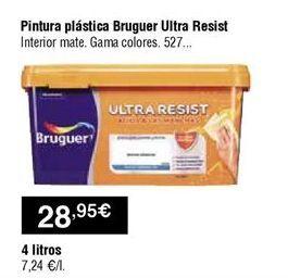 Oferta de Pintura plástica Bruguer por 28,95€