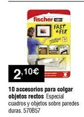 Oferta de Colgador fischer por 2,1€