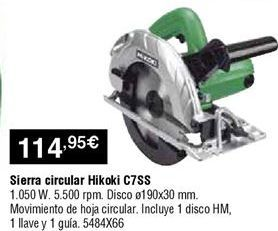 Oferta de Sierra circular por 114,95€