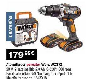Oferta de Atornillador worx por 179,95€