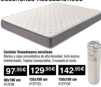 Oferta de Colchón enrollado por 97,95€