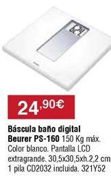 Oferta de Báscula de baño por 24,9€