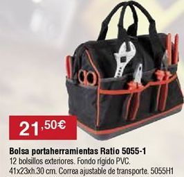 Oferta de Bolsa portaherramientas por 21,5€