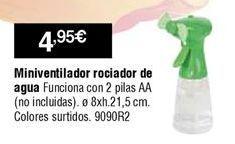 Oferta de Mini ventilador por 4,95€