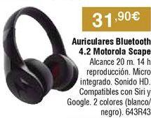Oferta de Auriculares bluetooth por 31,9€