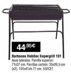 Oferta de Barbacoas Habitex por 44,95€