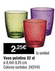Oferta de Vasos por 2,25€