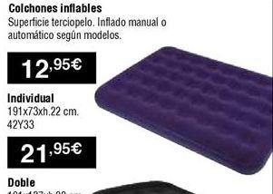 Oferta de Colchones por 12,95€