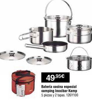 Oferta de Batería de cocina por 49,95€
