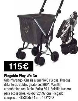 Oferta de Carro de compra por 115€