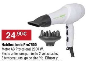 Oferta de Secador Habitex por 24,9€