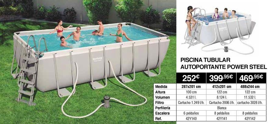 Oferta de Piscina tubular por 252€