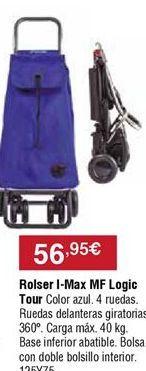 Oferta de Carro de compra Rolser por 56,95€