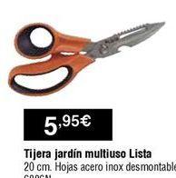 Oferta de Tijeras de jardinería por 5,95€