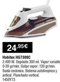 Oferta de Plancha Habitex por 24,95€