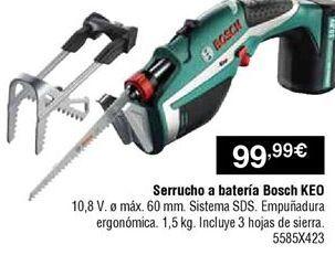 Oferta de Serrucho Bosch por 99,99€