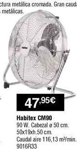 Oferta de Circulador de aire por 47,95€