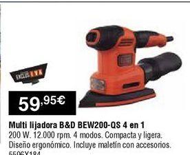 Oferta de Multilijadoras Black & Decker por 59,95€