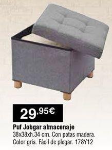 Oferta de Puff por 29,95€