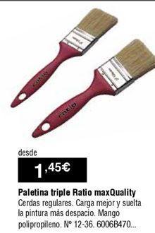 Oferta de Paletina triple por 1,45€