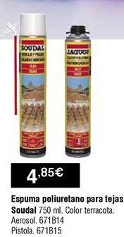 Oferta de Espuma de poliuretano por 4,85€