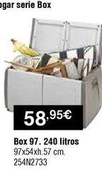 Oferta de Cajas por 58,95€