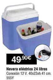 Oferta de Nevera eléctrica por 49,9€
