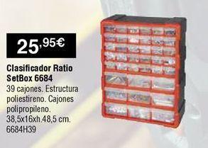 Oferta de Organizador Ratio por 25,95€