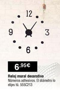 Oferta de Reloj de pared por 6,95€