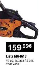 Oferta de Motosierra por 159,95€