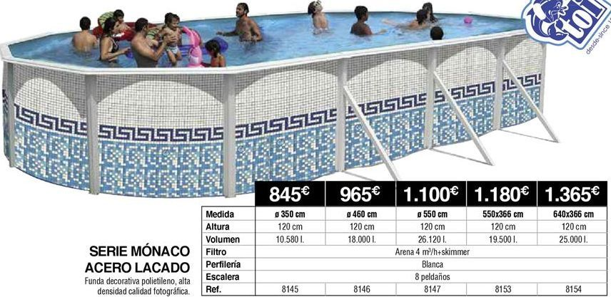 Oferta de Piscinas por 845€
