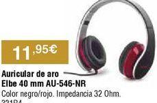 Oferta de Auriculares diadema por 11,95€