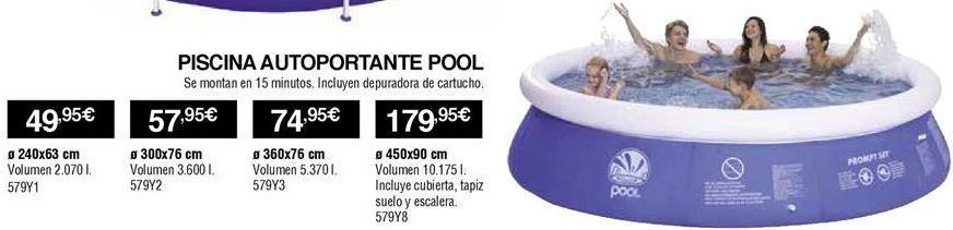 Oferta de Piscina autoportante por 49,95€